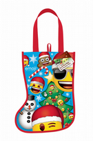 Emoji Christmas Stocking Tote Bag